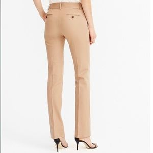 J. Crew Campbell Trouser Two-way Stretch Cotton 12